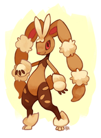 Mega Lopunny by Pombei