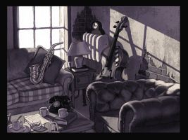 jazz room by hollietree