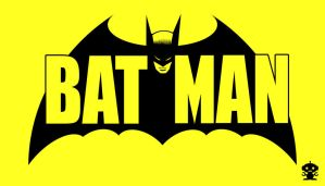 1960 Batman Comic Title Logo by HappyBirthdayRoboto