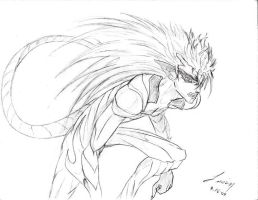Evolved Grimmjow by token39
