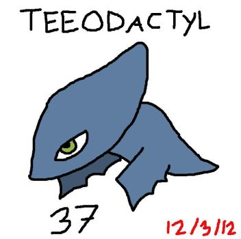 Lazymon: Teeodactyl by Lobsterprince
