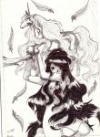 caught soul of a unicorn by saphiraly