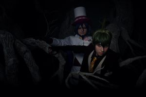 In The Dark Forest: Mephisto and Amaimon by JonneCat