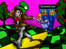 Mad Man in Wonderland-Doctor Who by musicalartfreak