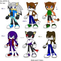 Sonic Adoptables 4 -closed..- by BladerGirl101