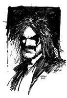 Lobo sketch by FlowComa
