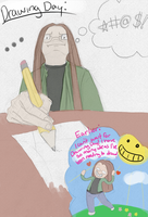 Drawing Day: Not A Great Start by Griff-Kendu