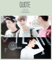 QUOTE HunHan (EXO) by Mycucheo