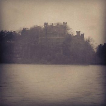 hidden castle on the river by Fedeltaflame