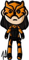 Young Justice - Tigress by shrimp-pops