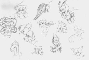 Sketches by babyangel7155