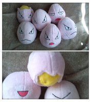exeggcute plush