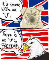 There is no U in FREEDOM. by NgatiKameie