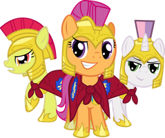 Cutie Mark Crusader, Royal Guards? by Spaceponies