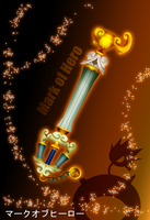 BBS Keyblade Mark of Hero by Marduk-Kurios