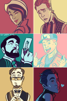 TftBL Palettes by AnArtistCalledRed
