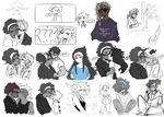 DAMMED that's a lot sketches 6 by cosmicguts