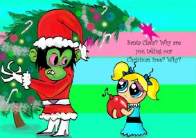 How the Mojo stole Christmas by raggyrabbit94
