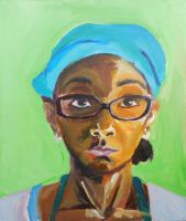 Snippet from the Portrait Series - Portrait 2 by ShanBrath