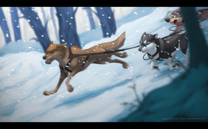 A journey through the fandoms: Balto by azzai