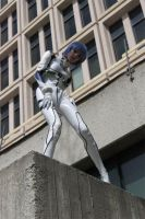Rei Ayanami Cosplay: City by MaryjaneDesignStudio