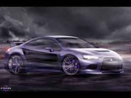 Mitsubishi P-Concept by pacee