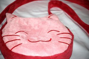 Kitty Bag by Greencherryplum