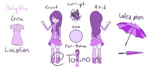 Holly Blue Reference by tempay4colleg