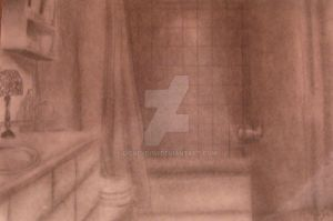 The Bathroom by disneydrm