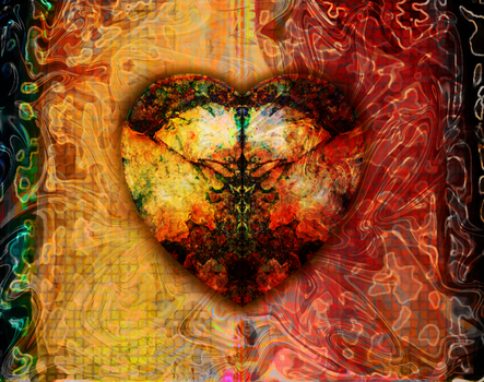 Heart Abstract by Crailey