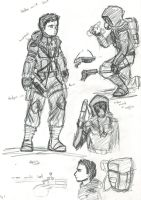S.t.a.l.k.e.r. comic concepts1 by KRIzzI-ghost