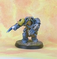 Space Wolves Wolf Guard Terminator 6 by darkcornerpainting