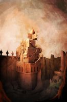 Prince of Persia tower by vonkoz