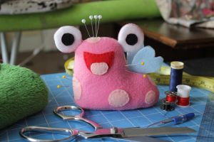 Faerie Slorg Pin Cushion by TheRedBandit
