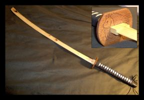 Wooden Katana 1 by piratecaptain