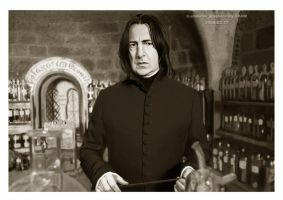 Professor Severus Snape A by user--9984