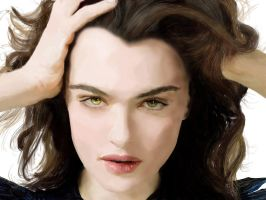 Painting: Rachel Weisz by roger-that007