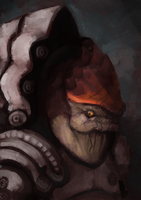 Wrex by commander-salamander