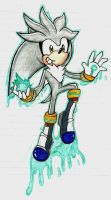 Silver The Hedgehog by NellyTHedge09