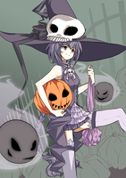 Kiseki Halloween: 2010 by xephia