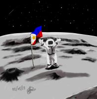 Pinoy-astronaut by Xarante