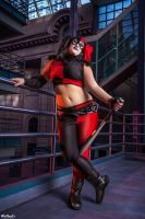 Harley Quinn from Batman: Assault on Arkham by St3phBot