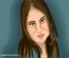 Retrato Willa Holland by panda0120