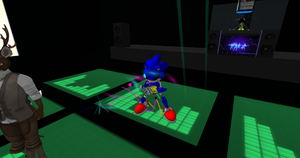 Metal Sonic1 in Rave Dance XD by SUPREMOXQ15
