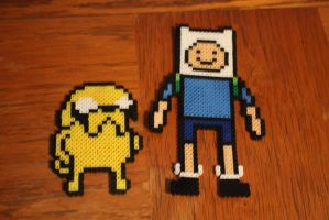 Finn and Jake together by Puppylover5