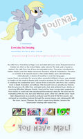 Derpy Journal CSS Skin by GlitterBell