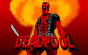 Deadpool Doom 2 TC title screen by Deadfish-Comics