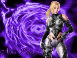 T6BR Black Nina Williams by WhiteAngel50000