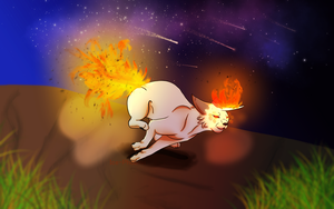 Running fire[CE] by Ice-Phoenvi