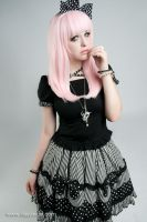 Amara - Powder Pink by GothicLolitaWigs